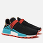 Кроссовки adidas Originals x Pharrell Williams Solar HU NMD Core Black/Clear Blue/Collegiate Orange фото - 0