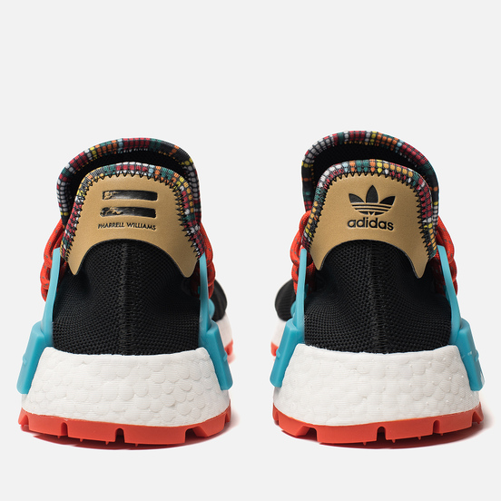 Кроссовки adidas Originals x Pharrell Williams Solar HU NMD Core Black/Clear Blue/Collegiate Orange