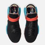 Кроссовки adidas Originals x Pharrell Williams Solar HU NMD Core Black/Clear Blue/Collegiate Orange фото- 5