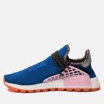 Кроссовки adidas Originals x Pharrell Williams Solar HU NMD Power Blue/Light Pink/Orange фото- 1