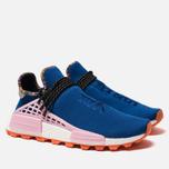 Кроссовки adidas Originals x Pharrell Williams Solar HU NMD Power Blue/Light Pink/Orange фото- 2