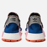 Кроссовки adidas Originals x Pharrell Williams Solar HU NMD Power Blue/Light Pink/Orange фото- 3