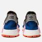 Кроссовки adidas Originals x Pharrell Williams Solar HU NMD Power Blue/Light Pink/Orange фото - 2