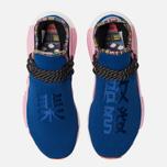 Кроссовки adidas Originals x Pharrell Williams Solar HU NMD Power Blue/Light Pink/Orange фото- 4