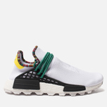 Кроссовки adidas Originals x Pharrell Williams Solar HU NMD White/Bold Green/Bright Yellow фото- 0