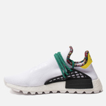 Кроссовки adidas Originals x Pharrell Williams Solar HU NMD White/Bold Green/Bright Yellow фото- 2