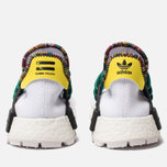 Кроссовки adidas Originals x Pharrell Williams Solar HU NMD White/Bold Green/Bright Yellow фото- 4