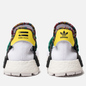 Кроссовки adidas Originals x Pharrell Williams Solar HU NMD White/Bold Green/Bright Yellow фото - 2