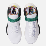 Кроссовки adidas Originals x Pharrell Williams Solar HU NMD White/Bold Green/Bright Yellow фото- 3