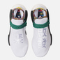 Кроссовки adidas Originals x Pharrell Williams Solar HU NMD White/Bold Green/Bright Yellow фото - 1