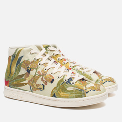 Кроссовки adidas Consortium x Pharrell Williams Stan Smith Mid Jacquard Blanch Cargo/Multicolour