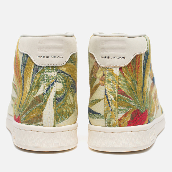 Кроссовки adidas Consortium x Pharrell Williams Stan Smith Mid Jacquard Blanch Cargo/Multicolour