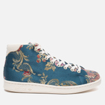 Кроссовки adidas Consortium x Pharrell Williams Stan Smith Mid Jacquard Stonewash Blue/Multicolour фото- 0