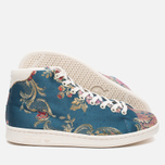 Кроссовки adidas Consortium x Pharrell Williams Stan Smith Mid Jacquard Stonewash Blue/Multicolour фото- 2