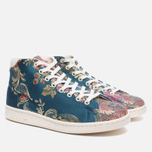Кроссовки adidas Consortium x Pharrell Williams Stan Smith Mid Jacquard Stonewash Blue/Multicolour фото- 1