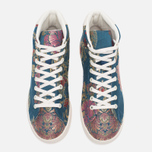 Кроссовки adidas Consortium x Pharrell Williams Stan Smith Mid Jacquard Stonewash Blue/Multicolour фото- 4