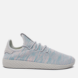 Кроссовки adidas Originals x Pharrell Williams Tennis Hu Blue/Pink/Light Grey фото- 0