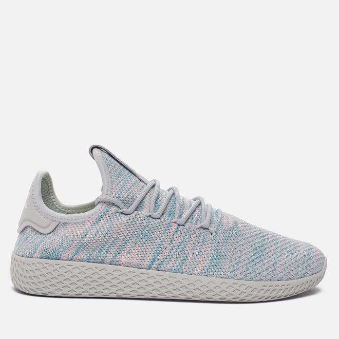 Кроссовки adidas Originals x Pharrell Williams Tennis Hu Blue/Pink/Light Grey