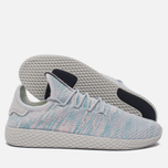 Кроссовки adidas Originals x Pharrell Williams Tennis Hu Blue/Pink/Light Grey фото- 1