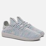 Кроссовки adidas Originals x Pharrell Williams Tennis Hu Blue/Pink/Light Grey фото- 2