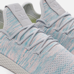 Кроссовки adidas Originals x Pharrell Williams Tennis Hu Blue/Pink/Light Grey фото- 3