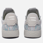 Кроссовки adidas Originals x Pharrell Williams Tennis Hu Blue/Pink/Light Grey фото- 5