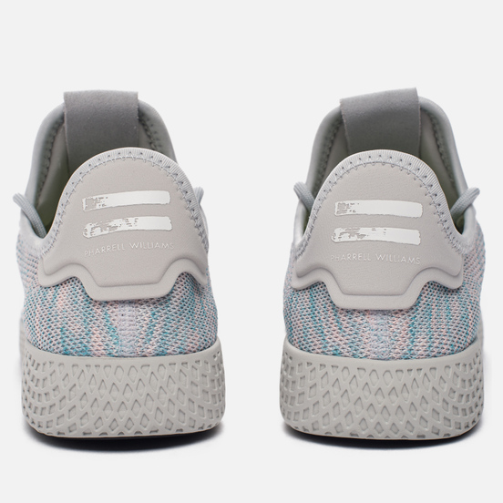 Кроссовки adidas Originals x Pharrell Williams Tennis Hu Blue/Pink/Light Grey