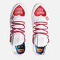 Мужские кроссовки adidas Originals x Pharrell Williams x Human Made Tennis HU White/Scarlet/Cream White фото - 1