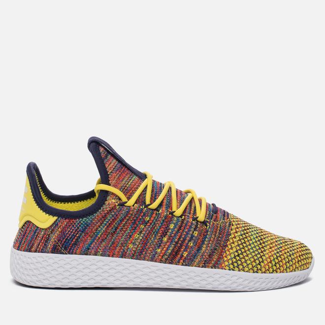 Кроссовки adidas Originals x Pharrell Williams Tennis Hu Semi Frozen Yellow/Noble Ink/White