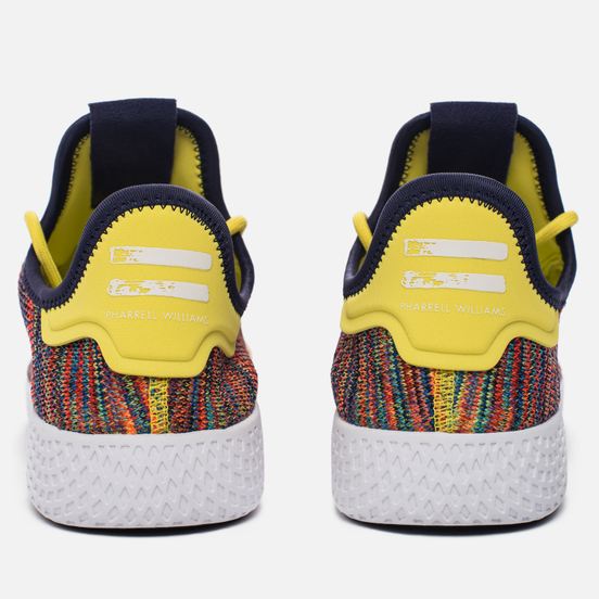 Кроссовки adidas Originals x Pharrell Williams Tennis Hu Semi Frozen Yellow/Noble Ink/White