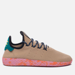 Мужские кроссовки adidas Originals x Pharrell Williams Tennis Hu Tan/Teal/Pink Marble фото- 0