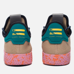 Мужские кроссовки adidas Originals x Pharrell Williams Tennis Hu Tan/Teal/Pink Marble фото- 5