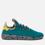 Кроссовки adidas Originals x Pharrell Williams Tennis Hu Teal/Semi Frozen Yellow/Grey Marble фото- 0