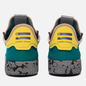 Кроссовки adidas Originals x Pharrell Williams Tennis Hu Teal/Semi Frozen Yellow/Grey Marble фото - 2