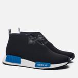 Кроссовки adidas Originals x Porter NMD C1 Black/White/Blue фото- 2
