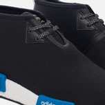 Кроссовки adidas Originals x Porter NMD C1 Black/White/Blue фото- 3