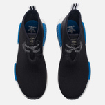 Кроссовки adidas Originals x Porter NMD C1 Black/White/Blue фото- 4