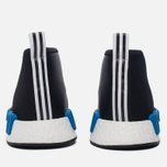 Кроссовки adidas Originals x Porter NMD C1 Black/White/Blue фото- 5