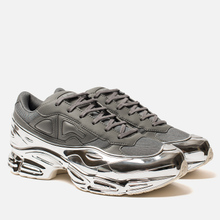 Кроссовки adidas Originals x Raf Simons Ozweego Ash/Silver Metallic/Silver Metallic фото- 0