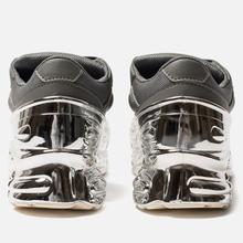 Кроссовки adidas Originals x Raf Simons Ozweego Ash/Silver Metallic/Silver Metallic фото- 2