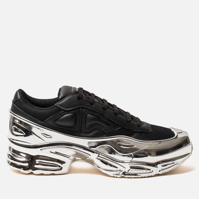 Кроссовки adidas Originals x Raf Simons Ozweego Core Black/Silver Metallic/Silver Metallic