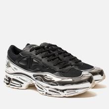 Кроссовки adidas Originals x Raf Simons Ozweego Core Black/Silver Metallic/Silver Metallic фото- 0