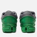 Кроссовки adidas Originals x Raf Simons Ozweego Green/Grey/Grey фото- 3