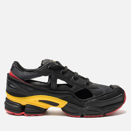 Кроссовки adidas Originals x Raf Simons Replicant Ozweego Belgium Pack Core Black/Gold/Night Grey