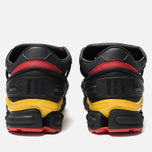 Кроссовки adidas Originals x Raf Simons Replicant Ozweego Belgium Pack Core Black/Gold/Night Grey фото- 3
