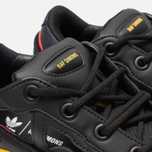 Кроссовки adidas Originals x Raf Simons Replicant Ozweego Belgium Pack Core Black/Gold/Night Grey фото- 6