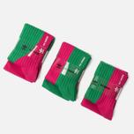 Кроссовки adidas Originals x Raf Simons Replicant Ozweego Green/Vivid Berry/Vivid Berry фото- 7