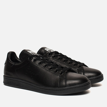 Кроссовки adidas Originals x Raf Simons Stan Smith Core Black/Core Black/Core Black фото- 0
