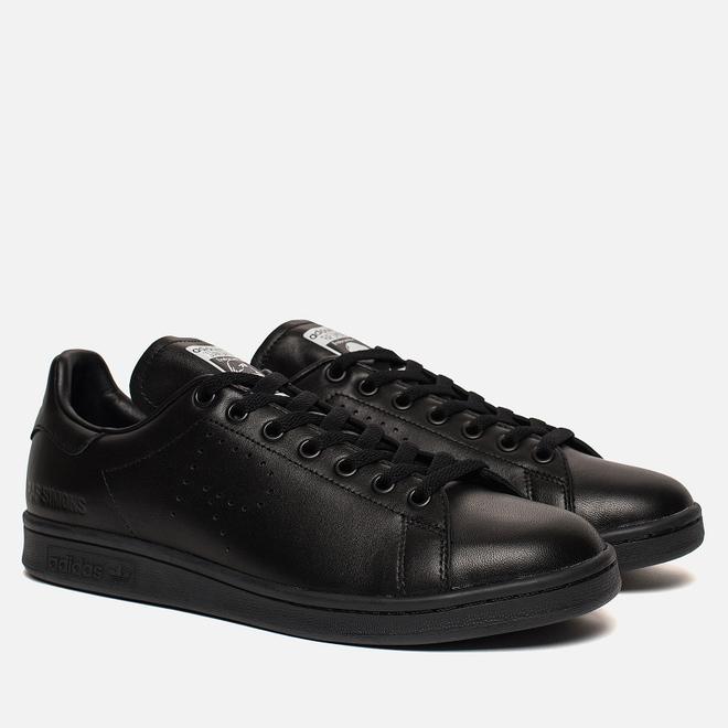 Кроссовки adidas Originals x Raf Simons Stan Smith Core Black/Core Black/Core Black
