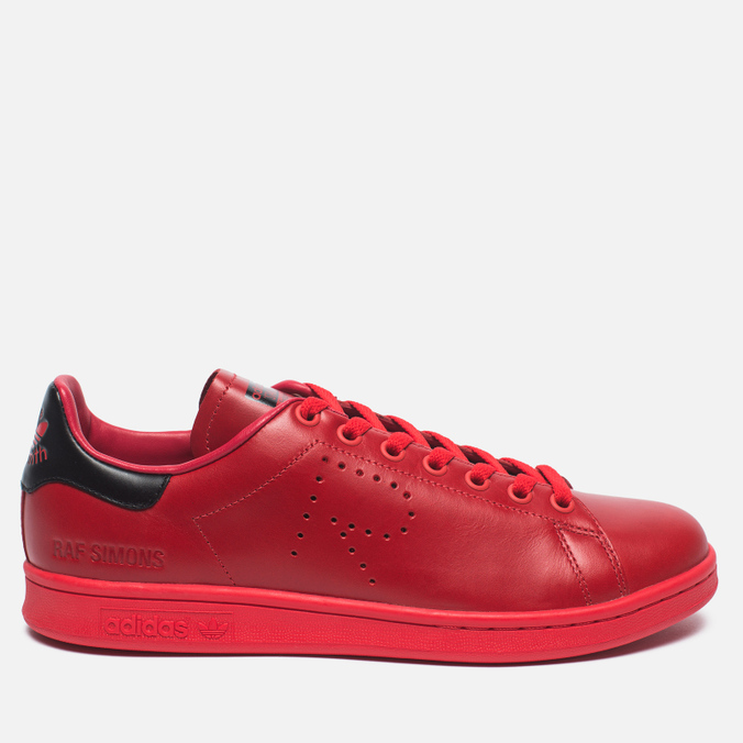 adidas Originals x Raf Simons Stan Smith Sneakers Tomato/Black